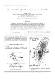 Characteristics of the Heavy Rainfall Disaster in Central Taiwan ...
