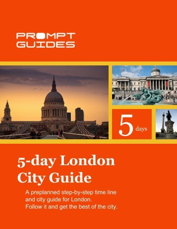 5-day London City Guide - Prompt Guides