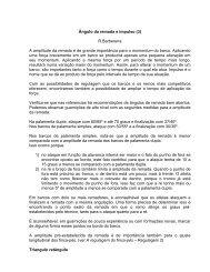 (Texto retirado da monografia de Mallrich,F) - Remo 2016