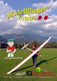 Modellflugprospekt 2012 (pdf) - Glocknerhof