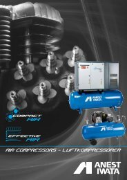 anest iwata refrigerated air dryers