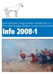 Info 2008-1:Layout 1.qxd - Shagya-Online