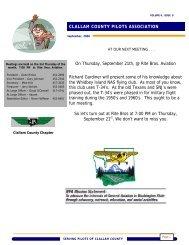 CCPA Newsletter September 2006 - Washington Pilots Association