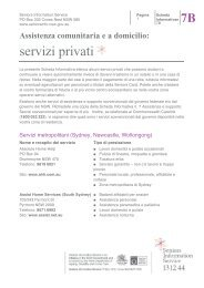 servizi privati - Seniors Information Service