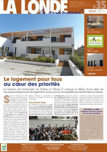 mensuel la londe 00 - Mairie de La Londe les Maures