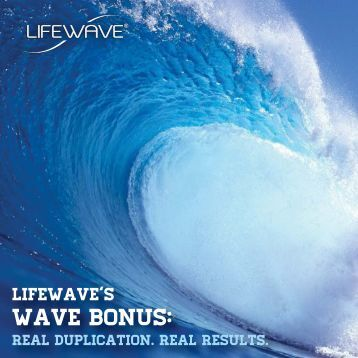 Wave Bonus Brochure - LifeWave