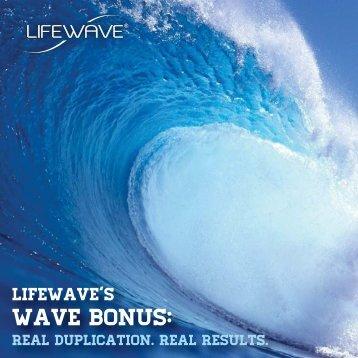 Wave Bonus Brochure - LifeWave