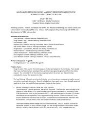 ISC Notes for 20JAN2012 - Aleutian and Bering Sea Islands LCC