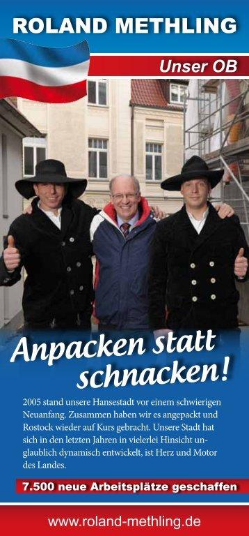 Wirtschaft & Arbeit - Roland Methling