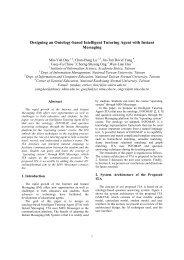 Designing an Ontology-based Intelligent Tutoring Agent with Instant ...