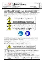 Industriële stofzuiger (PDF) - BeSWIC