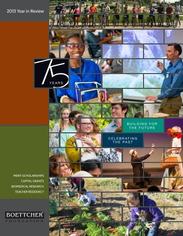 BoettcherFoundation-2013-Year-in-Review
