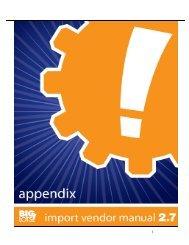 Vendor Manual Appendix(for import vendors) - as of 9-5-08 - Big Lots
