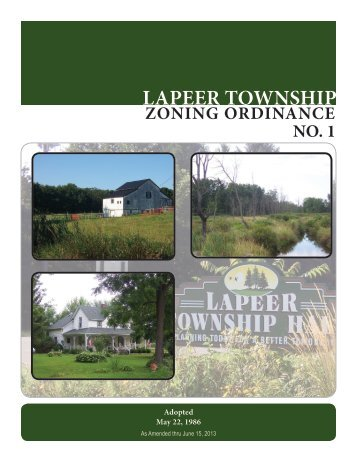 Zoning Ordinance Section 1.indd - Lapeer Township