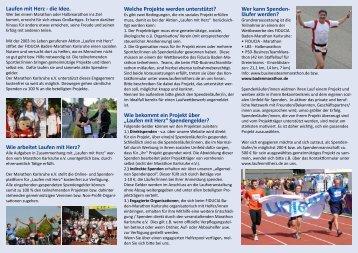 Flyer - Baden Marathon