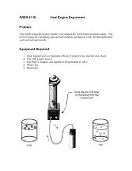 Ideal Gas Law Experiment