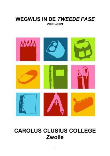 08-09 Brochure Tweede Fase - Carolus Clusius College