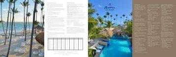 Paradisus Punta Cana Fact Sheet - spoiled agent