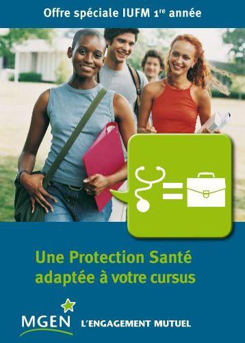 Une Protection Santé adaptée à votre cursus - MGEN