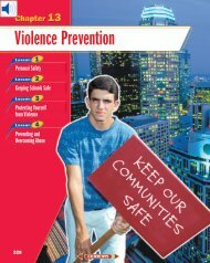 Chapter 13: Violence Prevention