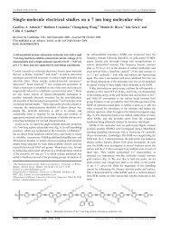 Single-molecule electrical studies on a 7 nm long molecular wire