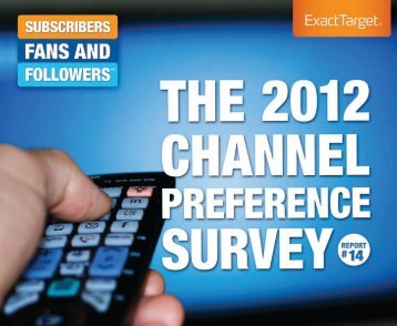 SFF14-The2012ChannelPreferenceSurvey