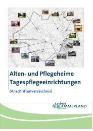 Pflegeheime im Ammerland - Landkreis Ammerland