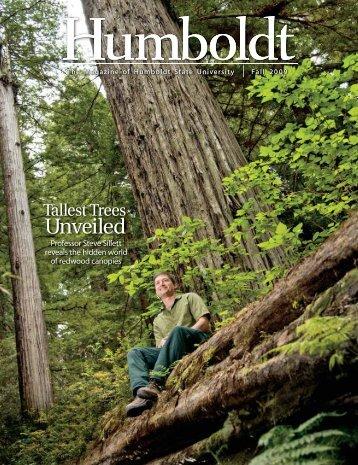 Unveiled - Humboldt Magazine - Humboldt State University