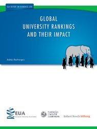 global university rankings and their impact - European University ...
