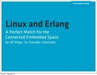 A Perfect Match for the Connected Embedded Space - Linux ...