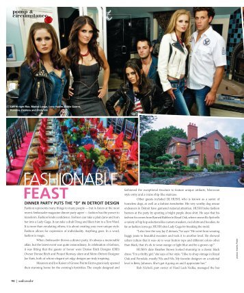 FASHIONABLE - Ambassador Magazine