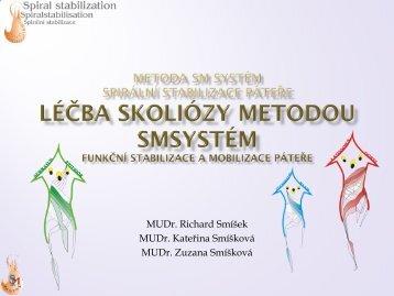 I. C-1-2-CV metoda sm systém spirální stabilizace páteře Prinicipy ...