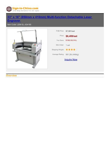 Multi-function Detachable Laser Engraver - Sign in China
