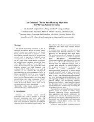 An Enhanced Cluster Based Routing Algorithm for Wireless ... - Larces