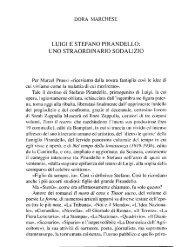 luigi e stefano ptrandello: uno straordinarto sodalizio - accademia di ...
