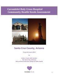Carondelet Holy Cross Hospital Community Health Needs ...
