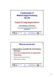 Region-based Segmentation - Video Coding and Architectures ...