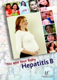 Hepatitis B - You and Your Baby - Health Protection Surveillance ...