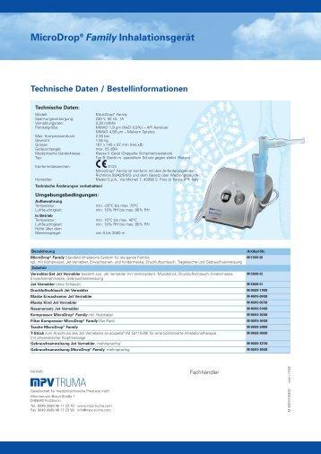 MicroDrop® Family Inhalationsgerät - Care-Discount