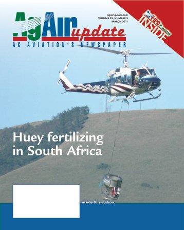Huey fertilizing in South Africa - IMS New Zealand Ltd