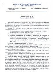 Ședința ordinară din 19.05.2010 - Consiliul Judeţean Gorj