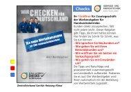 Checks - Fachverband Sanitär-, Heizungs-, Klimatechnik Bayern