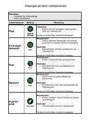 Eksempel på tekst i avfallsinstruks - Stokke kommune