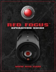 RED FOCUS™ OPERATION GUIDE - CacheFly