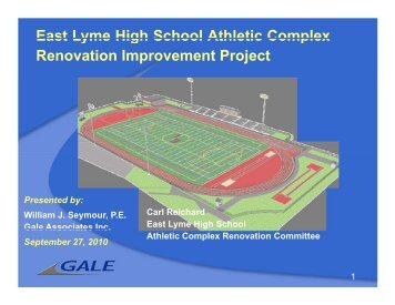 Proposed Athletic Complex Renovation/Improvement Project