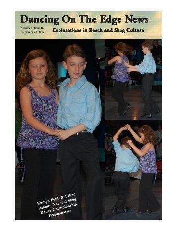 Dancing On the Edge Journal - beach music shag dance dancing ...