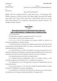 COMMUNE DE KOEKELBERG 18.09.2003/A/003 Séance du 18 ...