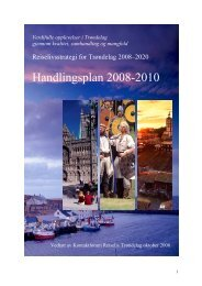 Reiselivsstrategi for Trøndelag 2008-2020 - Sør-Trøndelag ...