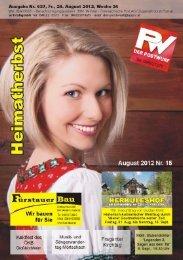 Ausgabe 24. August 2012 - Colist.eu