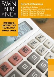 Business 041008 - Swinburne University of Technology